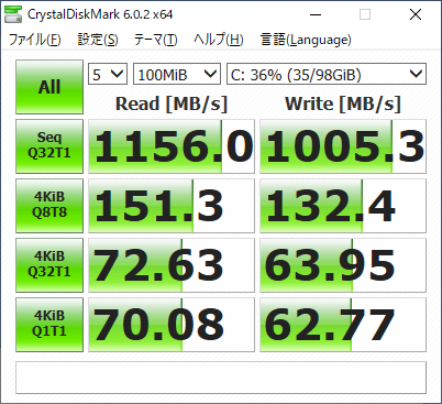 homeセグメント-windowsVM-DriveC