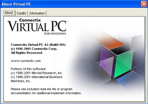 virtualPCforWin